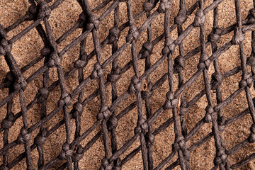 Background Texture abstract - patterns in Lobster Pot Net!