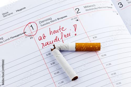 Rauchen aufhoren kalender