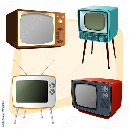 Televisores antiguos im genes de archivo y vectores for Fotos de televisores