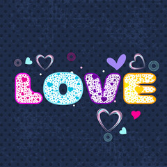 Happy Valentines Day background, greeting card or gift card with