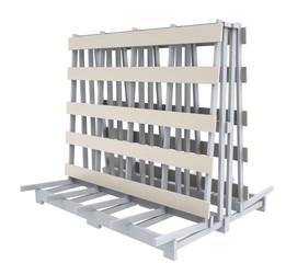 stand rack storage