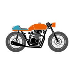Fotomurales - retro motorbike v2