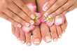 nail care for women's hands and feet