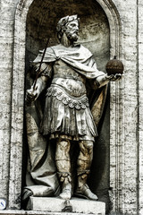 Monument in Rome, Italy