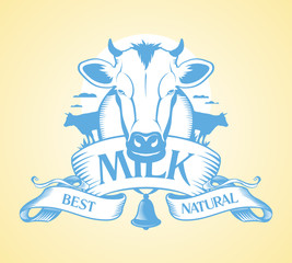 Best milk design template.