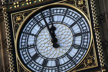 Big Ben London - Alomst twelve o'clock
