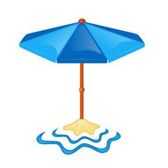 ombrello in spiaggia
