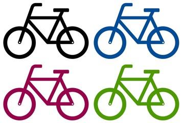 Wall Mural - Bikes