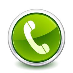 button green phone