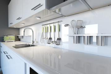 Fototapeta stylish kitchen obraz