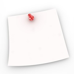 Note paper with sheet
