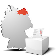 Vote Germany Mecklenburg-West Pomerania