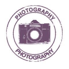 photo camera stamp