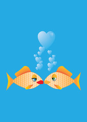 Gold Fish Love