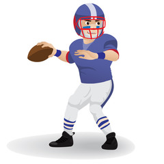 Quarterback  football player