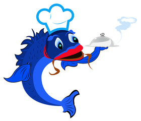 Aluminium Prints Pirates Best fish food for gourmet