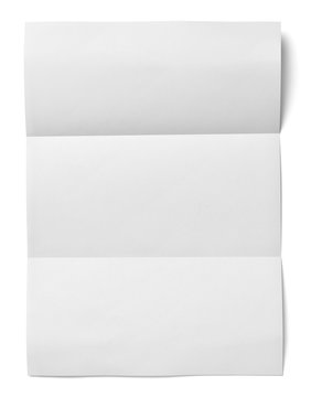 white crumpled unfolded note paper office business