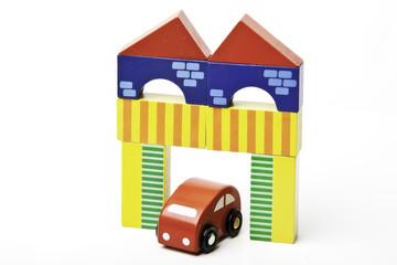 coche i edificio