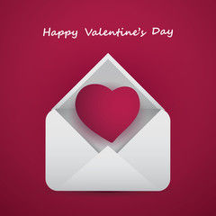 Valentine's Day Card - Message for Your Love