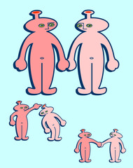 Alien Couple