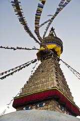 The biggest stupa of Kathmandu, Nepal