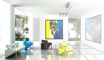 Modern Art Exhibition (drawing)
