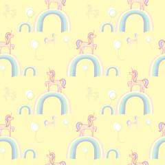 Unicorns rainbows wallpaper