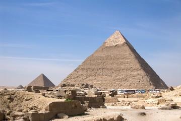 Pyramids at Giza Egypt - 03