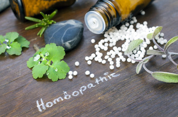 Homöopathieschild