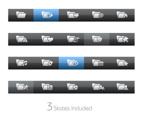 Folder - 2 of 2 / It includes 3 states in different layers