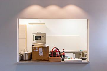 Umzugschaos in der Küche
