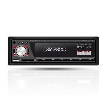 Car radio red