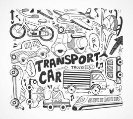 doodle transport element