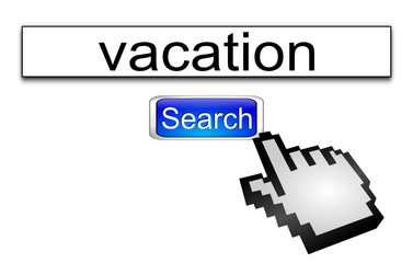 Internet search vacation