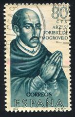 Portrait of Archbishop Toribio de Mogrovejo