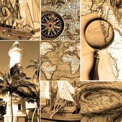 Marine collage