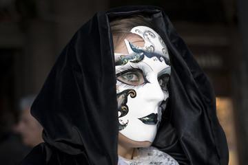 Maske in Venedig zum Karneval