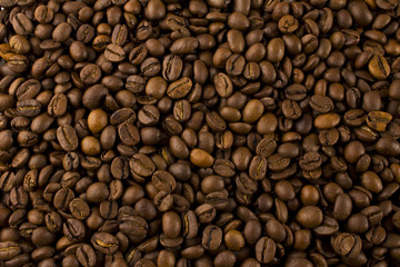 brown coffee , background texture , close-up