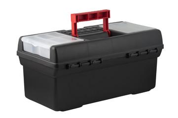 Plastic tool box.
