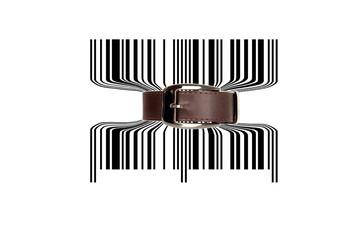 Bar code tighten with belt