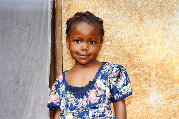 Sweet little African girl
