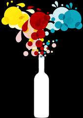 colors bottle