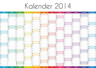 Kalender 2014 - DE