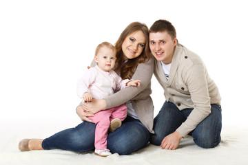 Happy family..