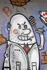 Graffiti violent