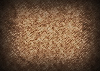 old rusty grid metal background, texture