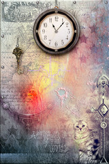 Canvas Prints Imagination Passage of time