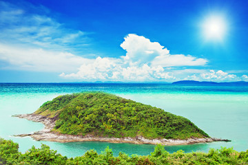 Tropical island - fototapety na wymiar