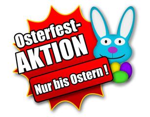 """Siegel """"Osterfestaktion - Nur bis Ostern !"""""""