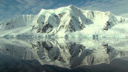 Fototapete - antarctic reflection